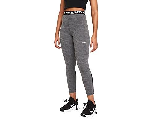 Nike Np 365 Hi Rise Tights Black/Htr/White L