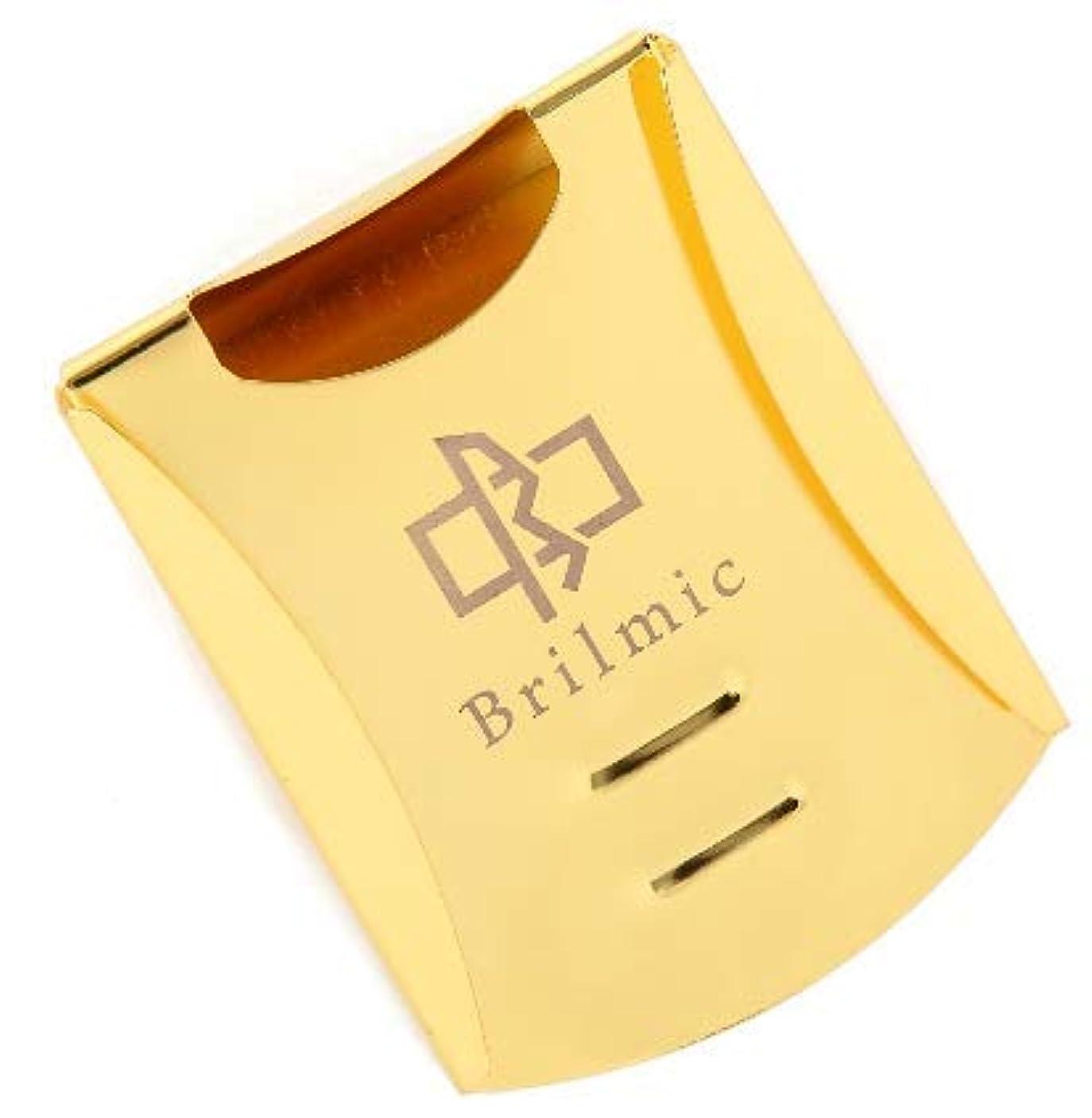 炭素渦旋回Brilmic マネークリップ カードケース カードホルダー ビジネスマンのための 化粧箱付き プレゼント ステンレス メンズ 3色 国内正規品