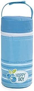 حافظة زجاجة رضاعة بتصميم عازل من كانبول بيبيز، بلون ازرق_69/008