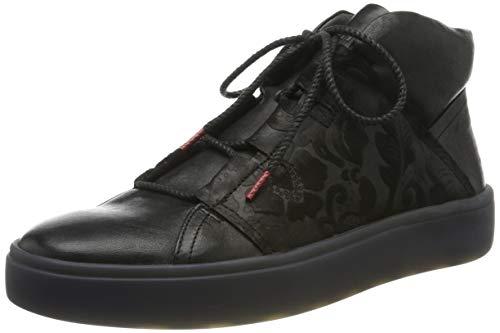 Think! Damen GRING_585206 Hohe Sneaker, Schwarz (Sz/Kombi 09), 43 EU