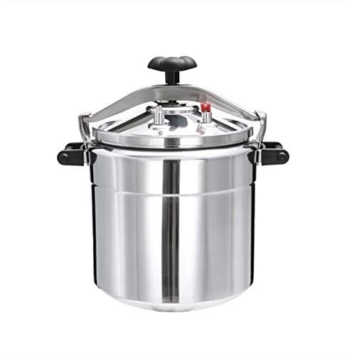 Cocina de presión de aleación de aluminio, consumidor y cocina a prueba de explosiones espesadas comerciales, cocina de inducción de gas inferior compuesto, uso general, adecuado para la familia, hote