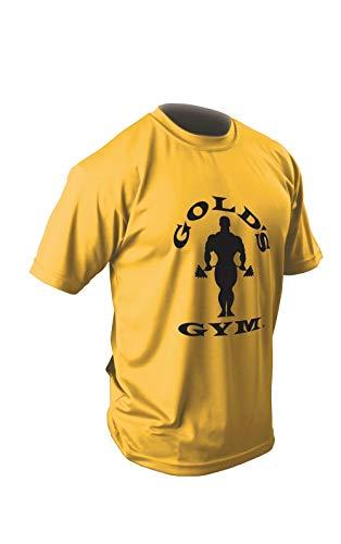 ゴールドジム(GOLD'S GYM) EXゴールズドライTシャツ(G2261シルエットジョー)YE/XXLサイズ