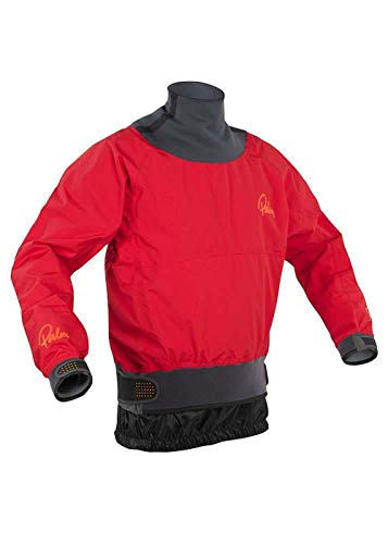 Palm Kajak oder Kajak - Vertigo Wildwasser Mantel Jacke Mantel Rot - Leicht. Wasserdicht und atmungsaktiv