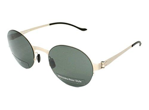 Mercedes-Benz Sonnenbrille M1036 Gafas de Sol, Dorado (Gold), 52.0 para Hombre
