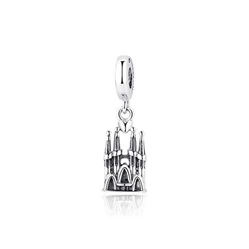 European Tree of Life Silver Charm Perles Pendentif Fit 925 Sterling Bracelet Chaîne