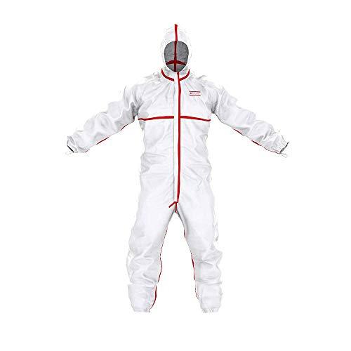 Traje de protección química SafeComfort Modelo T | PPE Cat. III Tipo 4/5/6 - Protección contra Las infecciones según la Norma EN 14126 – Talla L
