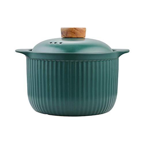 JINBAO Cacerola esmaltada, con Doble asa y Tapa, Cacerola, Olla de Sopa Resistente a Altas temperaturas, Utensilios de Cocina de Gran Capacidad, para Sopa, Pasta
