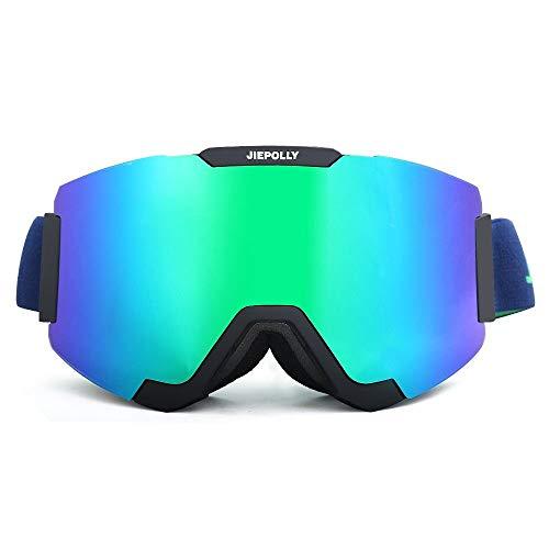 Yi-xir diseño Clasico Imán cilíndrico para Lentes Desmontables Gafas Fuera de esquí montañismo montañismo Gafas Espejo Gafas Espejo Moda (Color : 5, Size : 22 * 9.5cm)