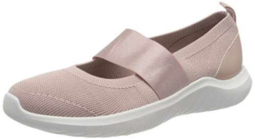 Clarks Nova Sol, Zapatillas Mujer, Dusty Pink Knit, 39 EU