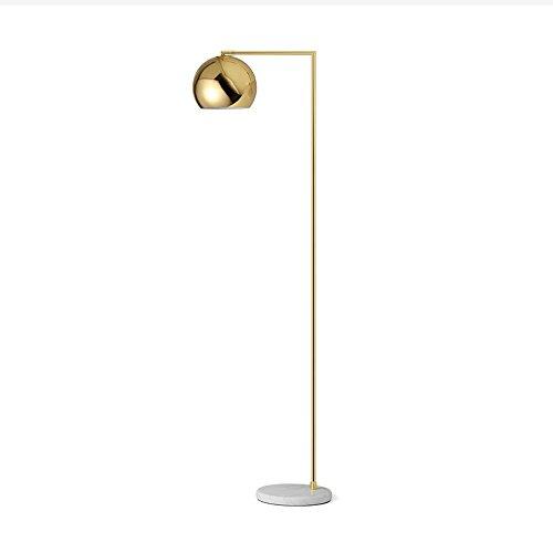 Staande lamp ijzeren staande lamp staande lamp staande lamp staande lamp staande lamp staande lamp vloerlamp goud marmer verticale vloerlamp woonkamer creatieve woonkamer slaapkamer hotel vloerlamp
