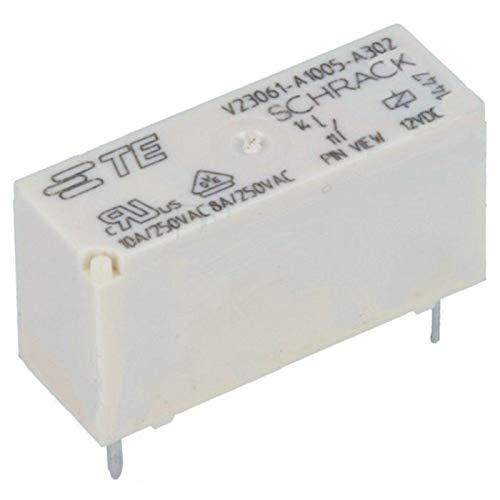 Schrack Relais MSR V23061-A1005-A302 12V DC max 250V/8A Miniatur Starkstrom U Spule