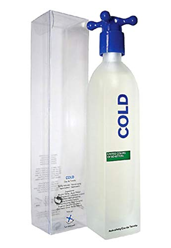 Benetton COLD (Tradicional) para Caballero Edt. en Spray de 100 ml.