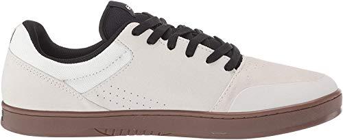 Etnies Herren Marana Skate-Schuh, Weiß/Schwarz/Gum, 34 1/3 EU