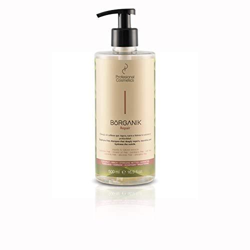 Profesional Cosmetics Borganik Repair. Champú sin sulfatos 3 en 1-500 ml.