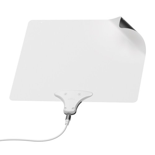 Mohu Leaf 30 Television Antenna, Indoor, 30 Mile Range, Original Paper-thin, Reversible, Paintable, 4K-Ready HDTV, 10 Foot Detachable Cable, Premium Materials for Performance, USA Made, MH-110598