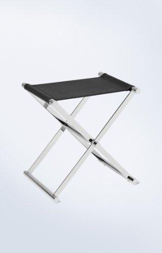 JOOP! Badhocker schwarz Chromeline 45x34,5x45 cm