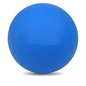 Demarkt Pelota de Lacrosse Sirve para Masajear Puntos de Presión Crossfit Terapias de Rehabilitación y Fisioterapia(Azul)