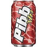 Pibb Xtra Soda, 12 Oz, Pack of 24