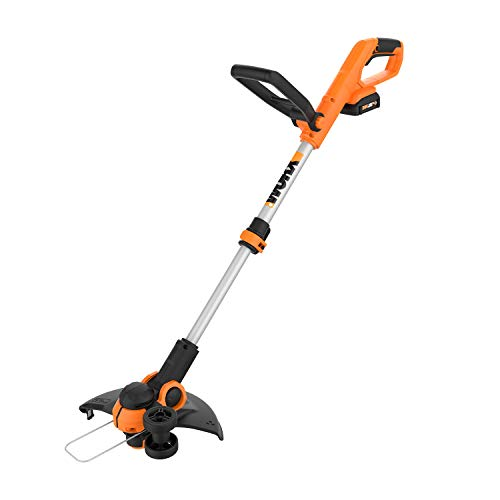 "Best Review Of Worx WG162 20V 12"" Cordless String Trimmer/Edger, Battery and Charger Included"