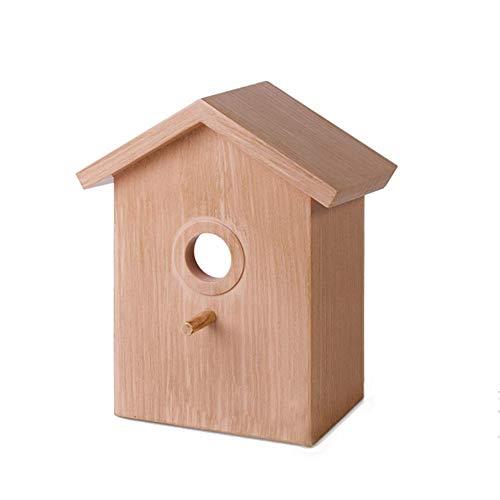 Lâ Vestmon Fenster Vogelhäuschen Holz Hängen Vogelhäuschen Mit 3 Super Starken Saugnapf Innovative DIY Vogel Nest Käfig