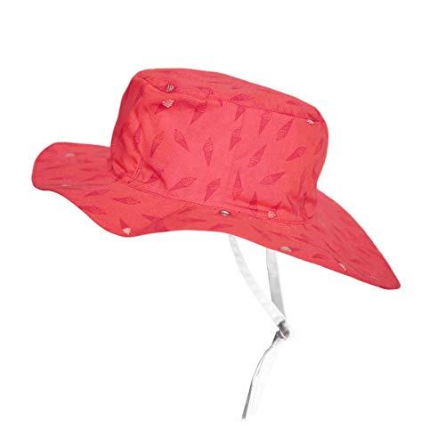 KI ET LA Hut mit UV-Schutz, wendbar, für Babys und Kinder, 6 Monate bis 12 Jahre, 45 bis 58 cm Gr. M , Ice Kream