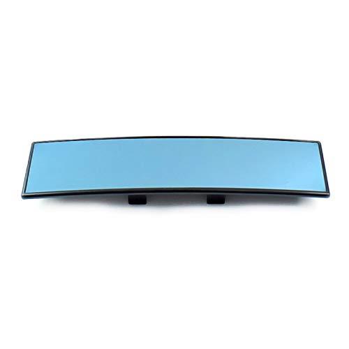 WENYOG Espejo Retrovisor Interior Clip de Interior Convexo Universal de 300 mm de Ancho en Vista Trasera Accesorios de Coches. Espejo Retrovisor Coche (Color Name : 300mm Blue)
