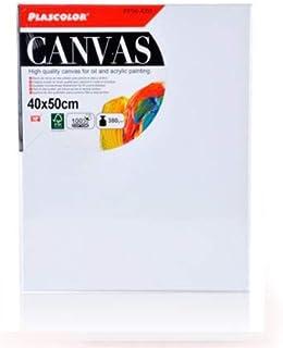 Lienzos para pintar | Apto óleo, acrílico o técnica mixta Pre-estirado 100% algodón 380grs/ Perfil 35mm (40 x 50 cm)