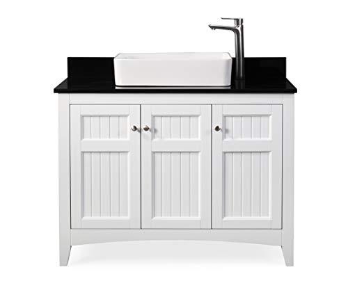 42 Thomasville Farmhouse White Vessel Sink Bathroom Vanity Zk 77888gt Buy Online In Barbados At Barbados Desertcart Com Productid 154338016