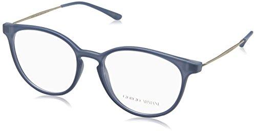 Giorgio Armani 0AR7140, Monturas de Gafas para Mujer, Matte Azure, 51