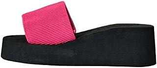 Dubocu LLC Women's rd With Slippers, Muffin Sandals, Flip-Flops, Outdoor Sandals, Waterproof, Comfortable, Not Grinding Feet