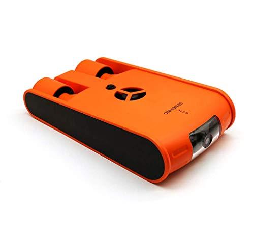 HYLH Drone Sott'Acqua, Smart Robot Fish Explorer Fotocamera Drone Diving Canottaggio Giocattoli Adulti Nuoto Bambini Surf Impermeabile Streaming Orange