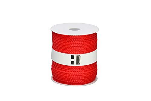 Hummelt® SilverLine-Rope Universalseil Polypropylenseil 3mm 100m rot auf Rolle