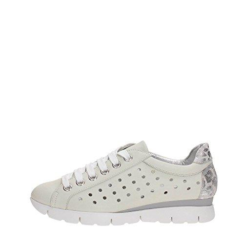 The FLEXX B172/35 Sneakers Femme, White/Silver, 40 EU