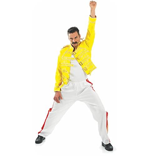 Fun Shack Disfraz Leyenda del Rock, Disfraz Halloween Hombre Disponible en Talla L