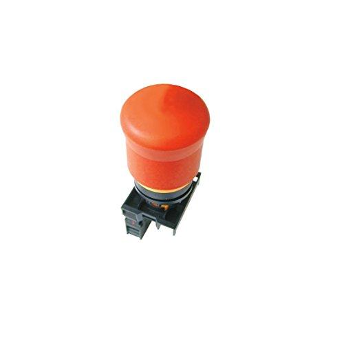 Eaton 216516 not-Halt/aus-Taste, D = 38 mm, Zugentriegelt, unbeleuchtet, 1 Öffner, 1 Schließer, Fronteinbau