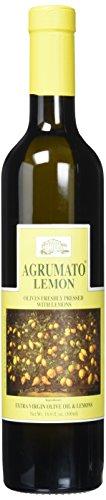 Agrumato Extra Virgin Olive Oil Pressed with Lemons, 16.9 Fluid Ounce