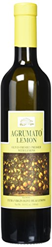 Agrumato Extra Virgin Olive Oil Pressed with Lemons, 16.9 Fluid Ounce