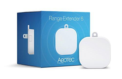 Aeotec Range Extender 6, Z-Wave Plus Repeater, UK-Stecker, Weiß