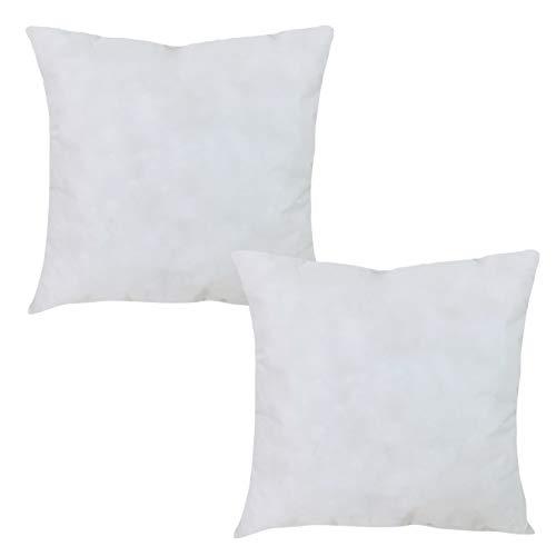 Mack - Basic Kissen Set mit Mircofaserfüllung | Mircofaserkissen für einen erholsamen Schlaf | 50x50 cm - 2er Set