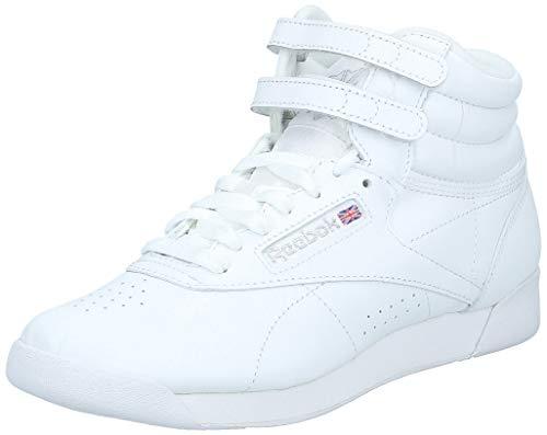 Reebok F/S Hi, Zapatillas de Deporte Mujer, Blanco Weiß, 38 EU