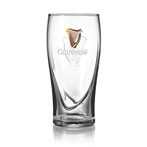 Guinness Gravity Official Beer Pint Glass (1 Pack)