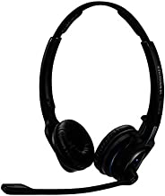Sennheiser MB Pro 2 UC ML (506046) - Dual-Sided, Dual-Connectivity, Wireless Bluetooth Headset   For Desk/Mobile Phone & Softphone/PC Connection  w/ HD Sound & Major UC Platform Compatibility (Black)