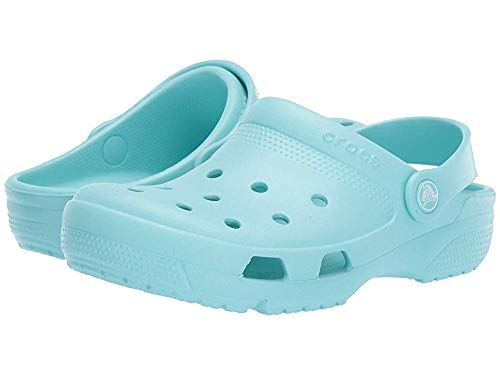 Crocs Women's Clogs, Blue Ice Blue 4o9, 8