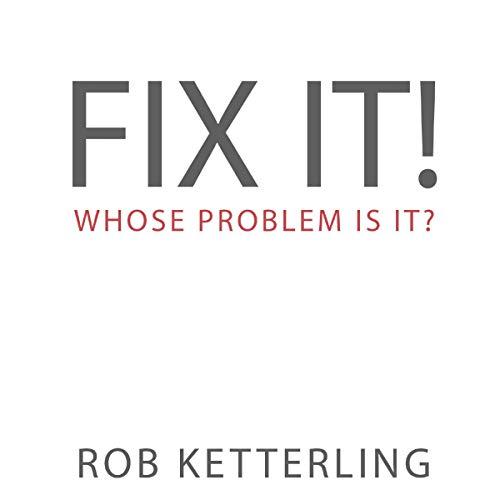 Fix It audiobook cover art