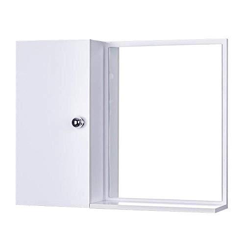 Armário Para Banheiro Com Espelho Cor Branco