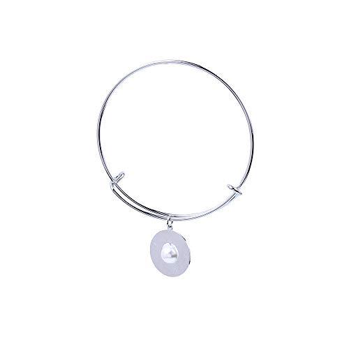 XZHYMJ Pearl KupferscheibeSilber Geschenk Für Paare Beste Wahl Für Armbänder
