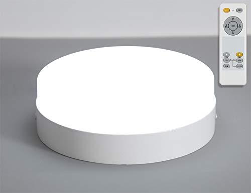 LED シーリングライト 調光 調色 6畳 8畳 18W 天井照明 照明器具 リモコン付き 小型 天井 LED常夜灯 引掛式 寝室 納戸 倉庫 洗面所 廊下 多機能 工事不要 簡単取付 PSE認証済