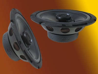 "6.5"" CDT Audio 2 Ohm Coaxial Speaker Pair CL-6EX.2"