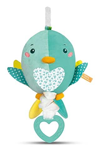 Clementoni Baby Clementoni for You-Soft Bird, Carillon Uccellino, Multicolore, 17269