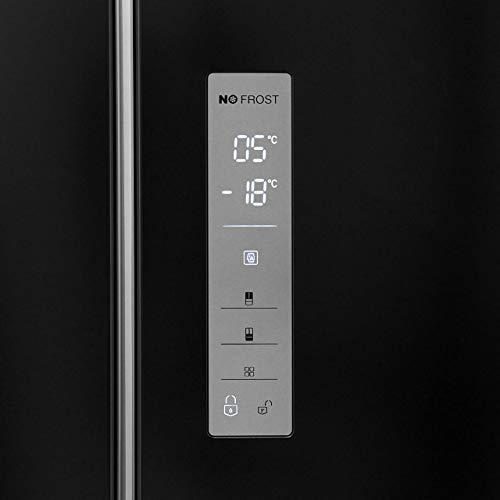 Hisense RF528N4WB1 - Congelador americano para nevera, color negro